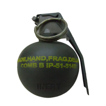 M67 Frag Grenade (Deluxe - No Holes) - ​Inert Replica Training Aid