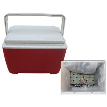 Cooler IED, Medium - Inert Replica Training Aid.