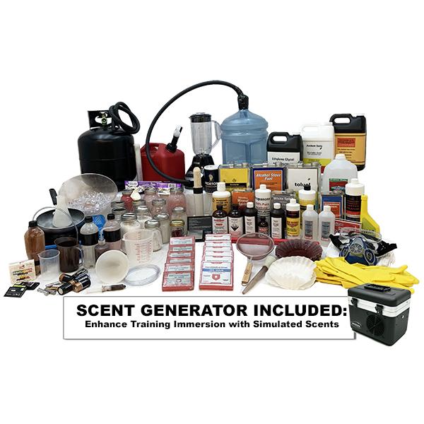 Meth Lab - Inert Training Kit w Scent Generator OTA-DL02