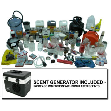 Meth Lab - Inert Training Kit with Scent Generator