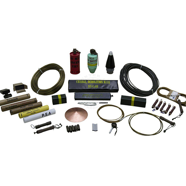 Inert, Military Explosives Training Kit