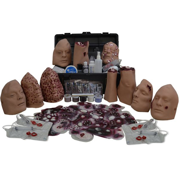 Moulage Kit #1 - WMD Trauma Simulation Kit