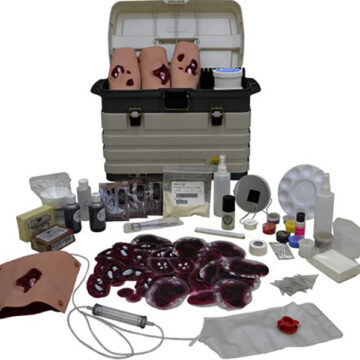 Moulage Kit #2 - Advanced Military Trauma Simulation Kit