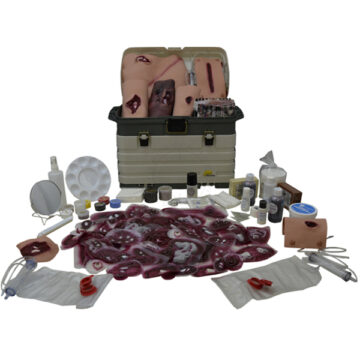 Moulage Kit #3 - Deluxe Trauma Simulation Kit