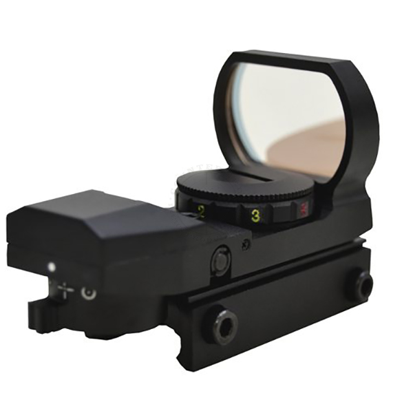 NcStar Tactical Red Dot Sight - Red & Green 4-Pattern Reticle