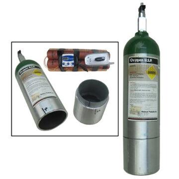 O2 (Oxygen) Tank IED - Inert Replica Training Aid