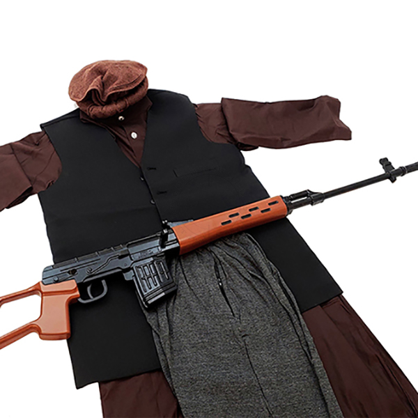 OPFOR Training Kit - Afghan Male Insurgent (with Replica Sniper Rifle)
