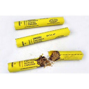 Deluxe Yellow Dynamite Stick - Inert Training Aid