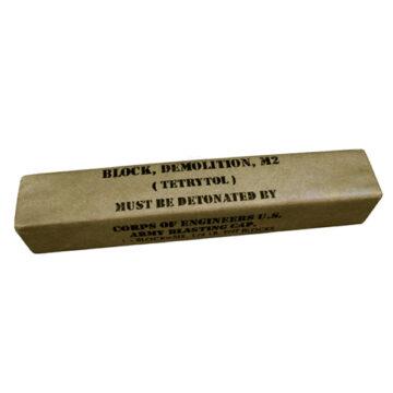 Tetrytol M2 Demoliton Block - Inert Training Aid