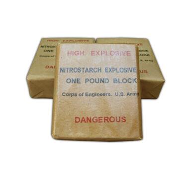 Nitro Starch Demolition Block - Inert Replica Training Aid