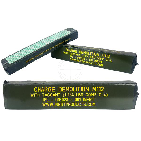 M112 C4 Demolition Block (Basic) - Inert Replica Training Aid