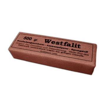 Westfalit 500g German Demolition Block - Inert Training Aid