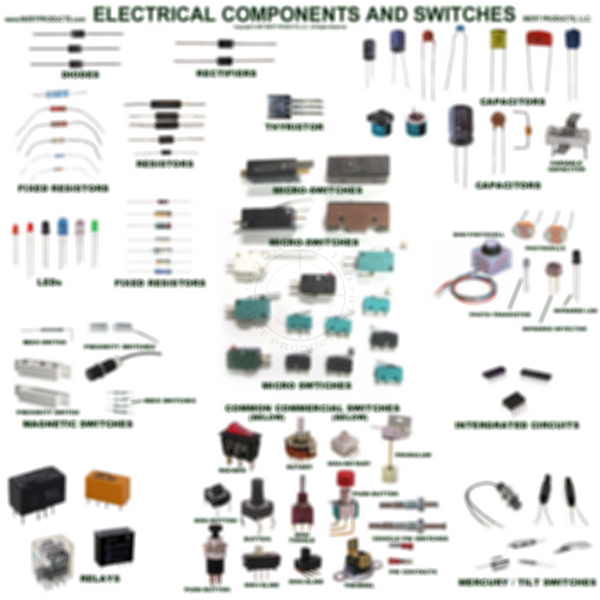 Electrical Components and Switches Poster