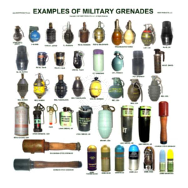 Grenade Examples Poster