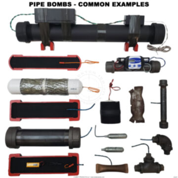 Pipe Bombs and Cutaways Examples Poster