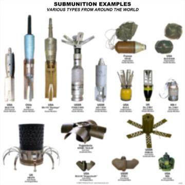OTA-980 Submunitions Poster OTA-1052 V19.01