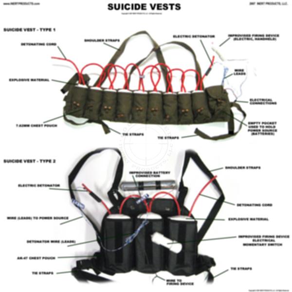 Suicide Belts / Person-Borne Improvised Explosive Devices (PBIED) Poster #1