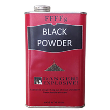 Black Powder, 1 lb Canister - Inert Training Aid