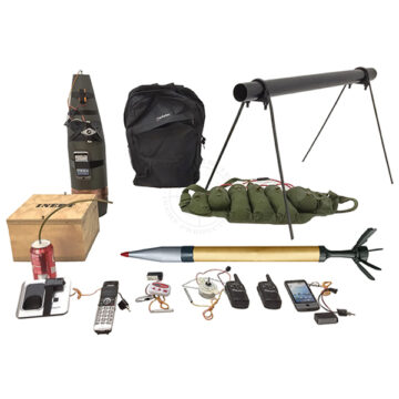 Middle Eastern IED Training Kit #1 - Inert Training Aids