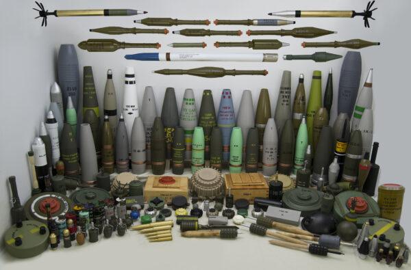 Inert Replica Ordnance Collection