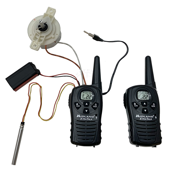 PMRS (Two-Way Radio) Firing Device with Mechanical Safe Separation Timer - Inert Training Aid