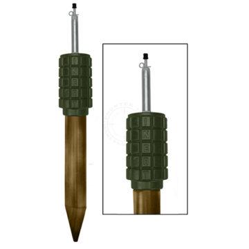 POMZ-2M Soviet Stake Mine - Inert Replica Training Aid