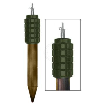POMZ-2 Soviet Stake Mine - Inert Replica Training Aid