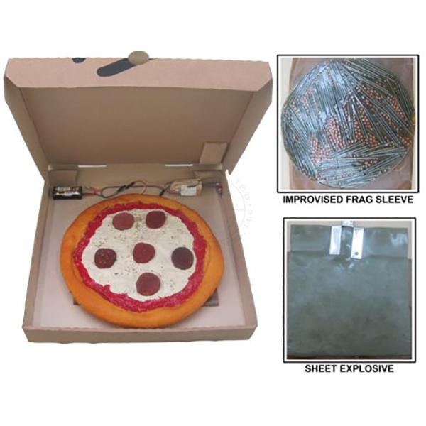 Pizza Box IED - Inert Replica Training Aid