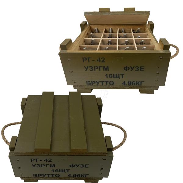 RG42 Soviet Frag Grenades Crate (w/ 16x Replica Grenades) OTA-WC18