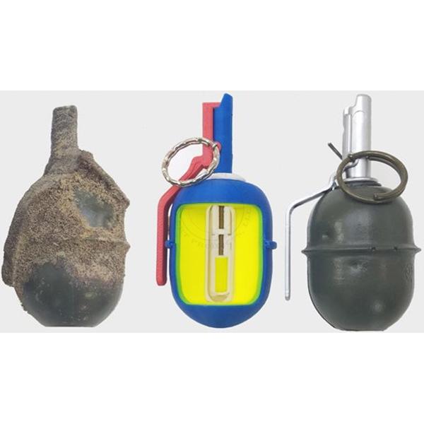 RGD-5 Soviet Frag Grenade - Inert Classroom Training Set