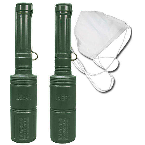 RKG-3 Soviet Anti-Tank Hand Grenade (with or without Parachute) - Inert Replica Training Aid