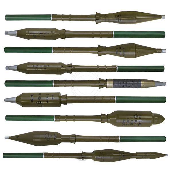 RPG-7 Rockets Training Kit - Inert Replicas OTA-RPGK02