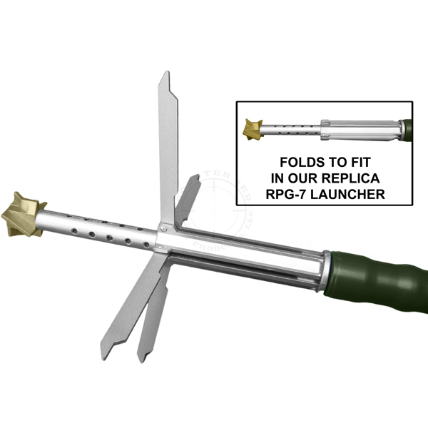 RPG Folding Fin Assembly - Inert Replica Training Aid