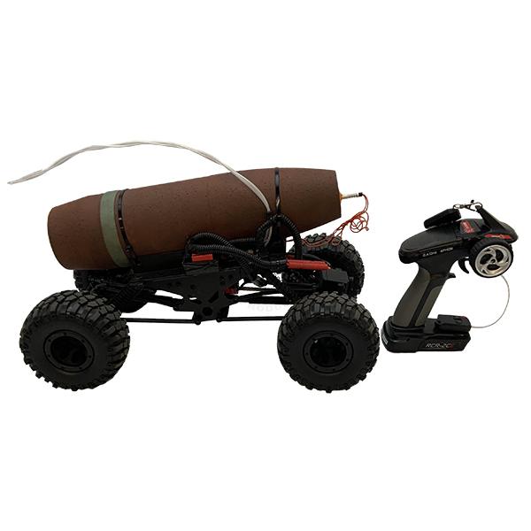 Remote Control Car IED (Functional w Siren) OTA-FS16
