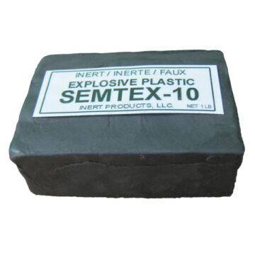 Semtex-10 1 lb, Packaged Block - Inert Training Aid