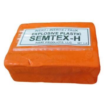 Semtex-H 1 lb. Packaged Block - Inert Training Aid