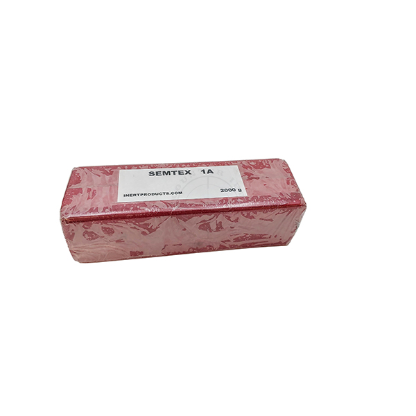 Semtex-1a 2000g Demolition Block (Basic, Red Label) - Inert Replica Training Aid