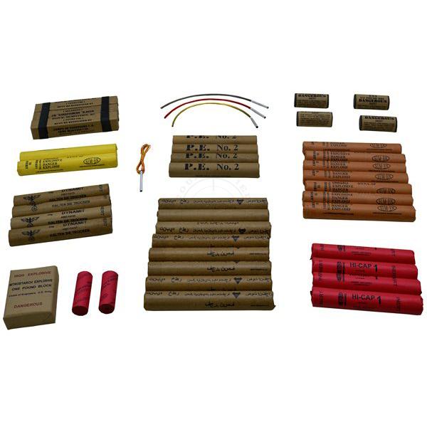 Inert Explosives Training Kit - Small