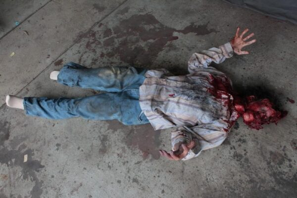 Simulated Casualty - Smashed Head