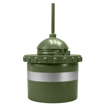No. 69 Mk1 South African Bounding Fragmentation Mine - Inert Replica Training Aid
