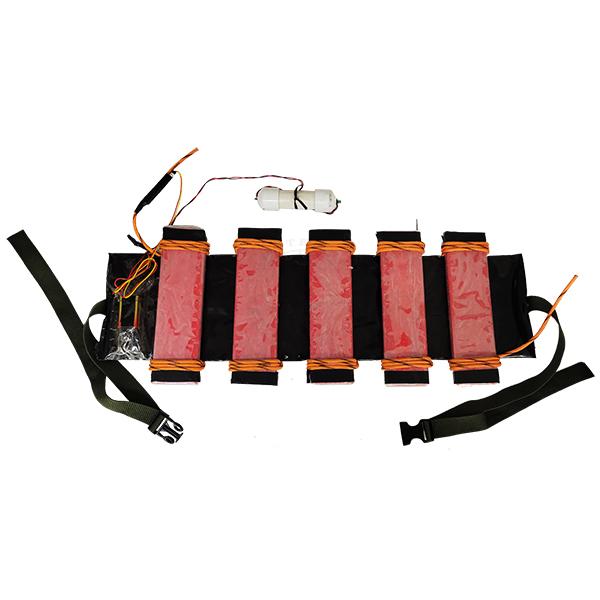Suicide Belt Type #2 (Semtex Blocks) - Inert Replica OTA-1508