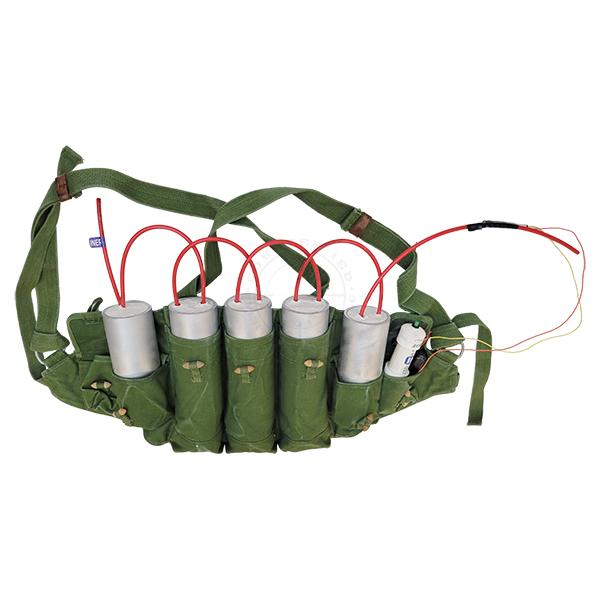 Suicide Vest Type #2 (C4 Pipe Bombs) - Inert Replica OTA-1502