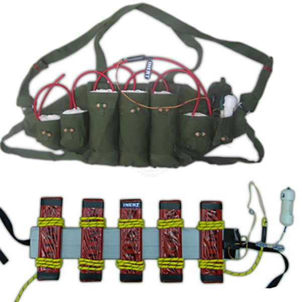 Suicide Vest & Belt Set - Inert Training Aids