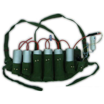 Suicide Vest Type #2 (C4 Pipe Bombs) - Inert Training Aid