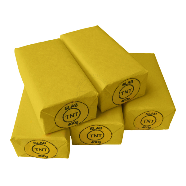 TNT 400g Middle Eastern Demolition Block - Inert Training Aid