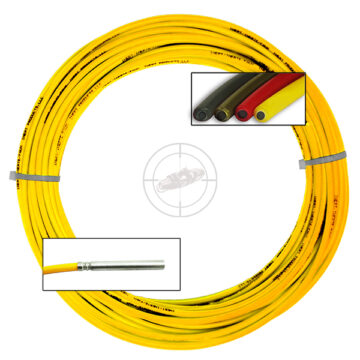 Time Fuse (Solid Core), 100 ft Coil (Yellow) - Inert Replica OTA-SC95
