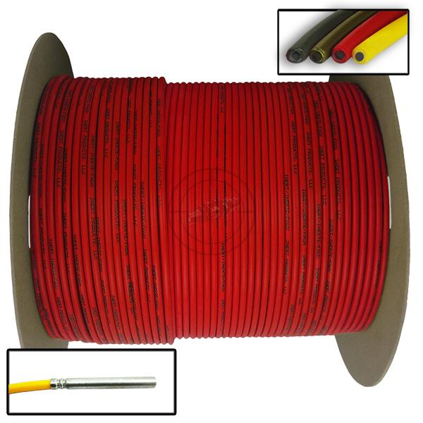Time Fuse (Solid Core), 1,000 ft Spool (Red) - Inert Replica OTA-SC94
