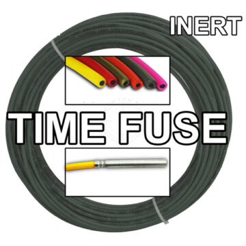 Time Fuse (Solid Core) - 100 ft Coil (Olive Drab) - Inert Training Aid