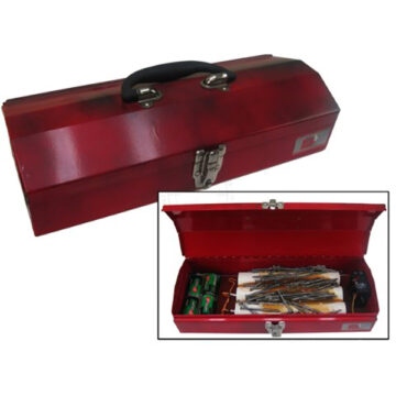 Toolbox IED (Type #1, Pipe Bombs) - Inert Replica Training Aid
