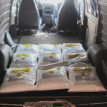 VBIED Training Kit #1- 495 Pounds Ammonium Nitrate